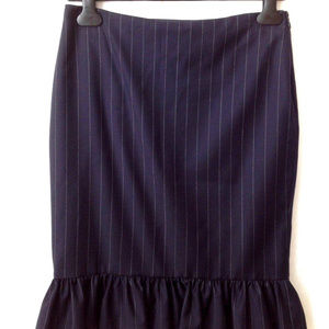 Ralph Lauren Skirts - Ralph Lauren Black Label 100% WOOL ruffled skirt